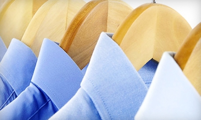 Natural Cleaners - Multiple Locations: $20 for $40 Worth of Eco-Friendly Dry Cleaning at Natural Cleaners