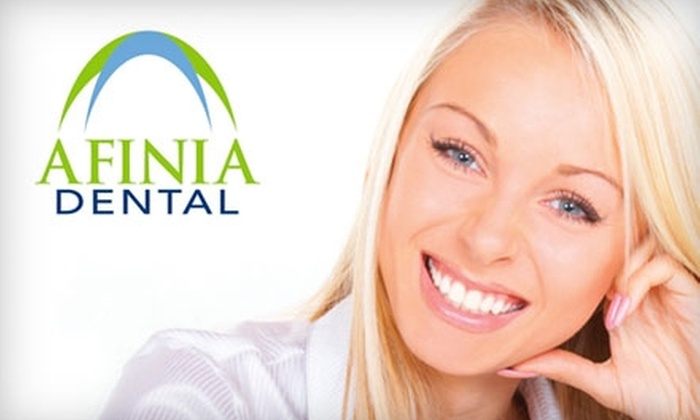 Afinia Dental - West Chester: $145 for Zoom! Whitening Treatment at Afinia Dental in West Chester($550 Value)