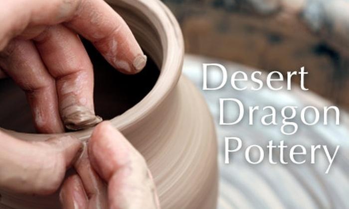 Desert Dragon Pottery - Deer Valley: $15 Pottery-Wheel Class at Desert Dragon Pottery