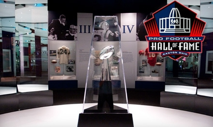 Pro Football Hall of Fame - Canton: $10 for an Adult or Child Admission to Pro Football Hall of Fame (Up to $20 Value)