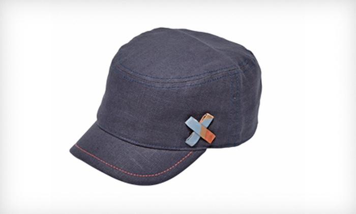 Goorin Bros. Women's Ella Cadet Hat in Navy: $15 for a Women's Ella Cadet Hat in Navy ($35 List Price). Four Sizes Available.