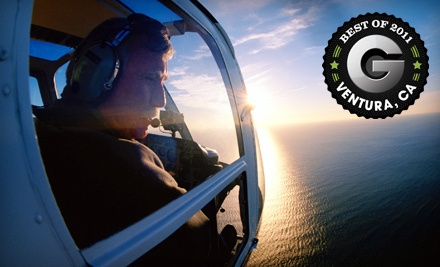 Whale-and-Surf Helicopter Tour for Two (a $325 value) - Channel Islands Helicopters in Oxnard