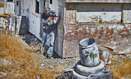 Full-Day Paintball Package for 2 (a $74 value) - The Paintball Zone in Waterford