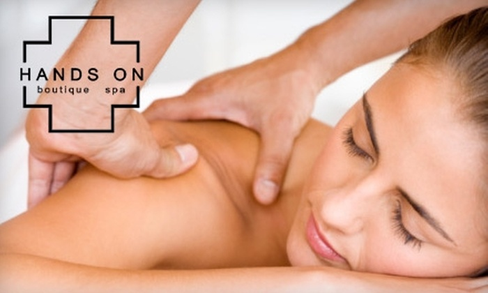 Hands On Boutique Spa & Wellness Sanctuary - Beverly Hills: $25 for $50 Worth of Spa Services at Hands On Boutique Spa & Wellness Sanctuary in Beverly Hills