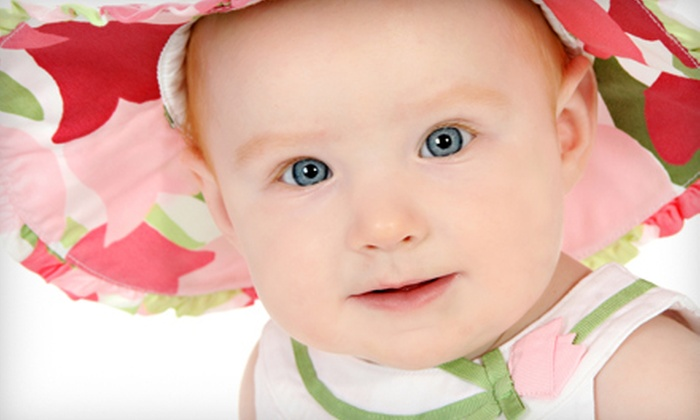 CL!X Portrait Studios Rochester - Multiple Locations: Three-Pose Portrait Package or Baby's First Year Portrait Package with Five Shoots at Clix (Up to 90% Off)