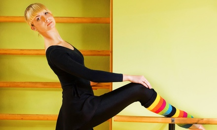 Three or Five Barre Fitness Classes at Chautauqua Regional Youth Ballet (Up to 70% Off)