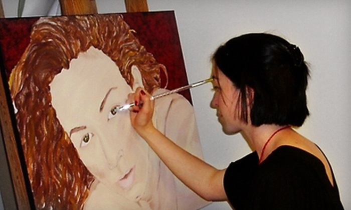 Danell Lynn Fine Arts - Willo: BYOB Painting Class for One or Two at Danell Lynn Fine Arts