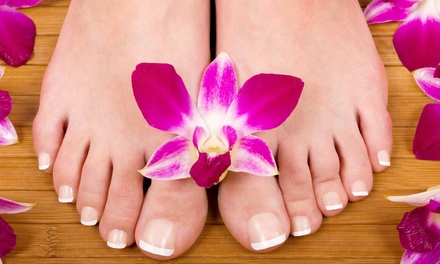 Up to 56% Off Manicure and Pedicure at Victor Victoria Salon & Spa