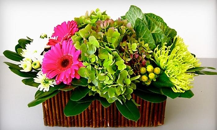Petals & Paper - Yardley: $55 for a Floral-Arrangement Workshop at Petals & Paper in Yardley ($150 Value)