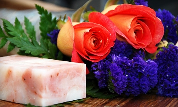 Compass Rose Soap Company - Tallahassee: $37 for Six Months of Soap and Roses at Compass Rose Soap Company ($75 Value)