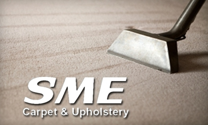 SME Carpet & Upholstery - Columbus GA: $16 for a Two-Room Carpet Cleaning from SME Carpet & Upholstery ($31.90 Value)