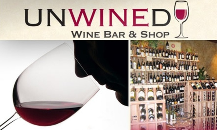 Unwined - San Jose: $9 for Any Wine Flight at Unwined Wine Bar (Up to $22 Value)