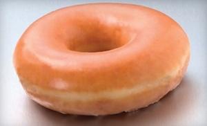 Krispy Kreme: $9 for Two-Dozen Original-Glazed Doughnuts at Krispy Kreme ($18.58 Value)