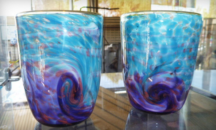 Stone and Glass - Poway: $50 for $100 Worth of Plates, Vases, and Sculptures or $100 Toward Studio Class at Stone and Glass