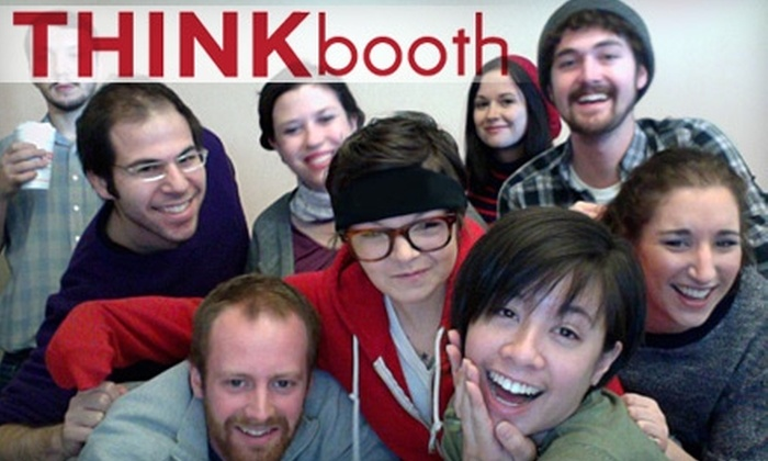 Think Studio - Houston: $500 for a Four-Hour Photo-Booth Rental from Think Studio ($1,275 Value)