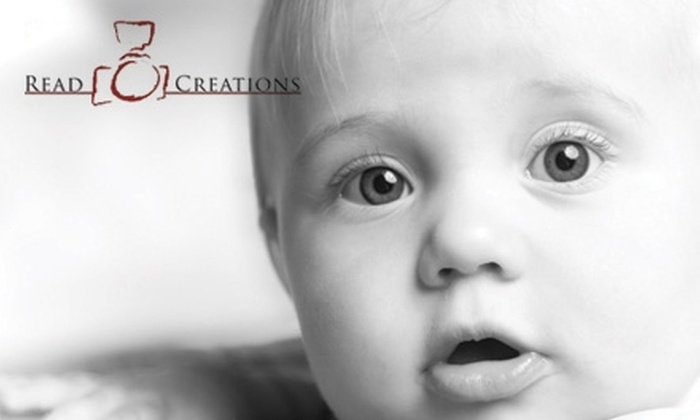 Read Creations - Piedmont Triad: $39 for a 1.5-Hour Photo Shoot, Image Disc, and Prints from Read Creations ($335 Value)