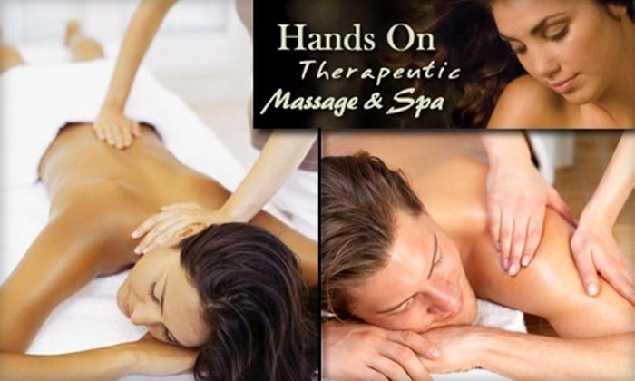 Hands On Therapeutic Massage & Spa - Enterprise: $45 for a One-Hour Therapeutic Massage at Hands On Therapeutic Massage & Spa ($95 Value)