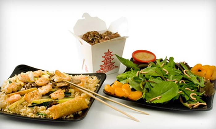 Chop Chop Japanese Steakhouse - Amarillo: $10 for $20 Worth of Casual Japanese Cuisine at Chop Chop Japanese Steakhouse