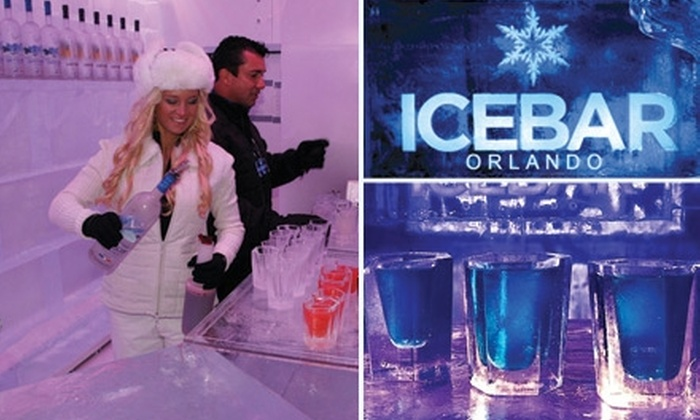 ICEBAR Orlando - Southwest Orange: $9 Admission to Icebar Orlando ($16 Value) and 50% Off Drinks in the Fire Lounge