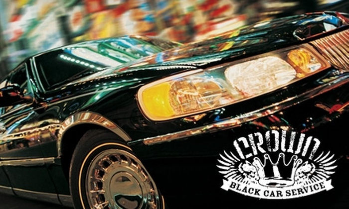 Crown Black Car - Pike Place  Market: $25 for a $50 Royal Rider Card from Crown Black Car