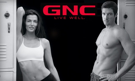 $40 Groupon to GNC at New Market Square - GNC in Wichita