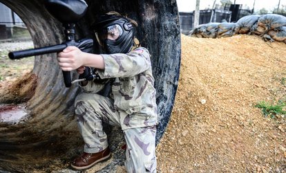 <strong>Paintball</strong> Package for Two with Guns, Masks, and <strong>Paintballs</strong> at Insane <strong>Paintball</strong> (Up to 55% Off)