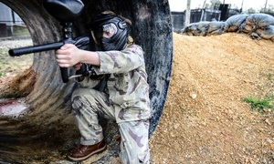 Insane Paintball: Paintball Package for Two or Twelve with Rental Pack and Paintballs at Insane Paintball (Up to 62% Off)