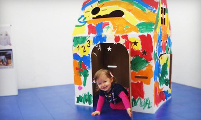 Easy Playhouse: $20 for a Customizable Cardboard Playhouse from Easy Playhouse ($39.99 Value)