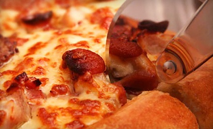$26 Groupon to Garlex Pizza and Ribs - Garlex Pizza and Ribs in Danville