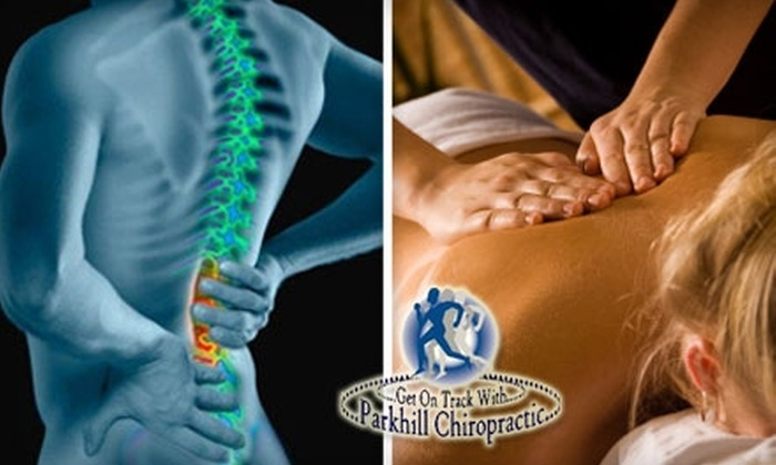 Parkhill Chiropractic and Wellness Center - Keller: $35 for an Exam, X-Rays, and a 30-Minute Relaxing Massage at Parkhill Chiropractic and Wellness Center ($340 Value)