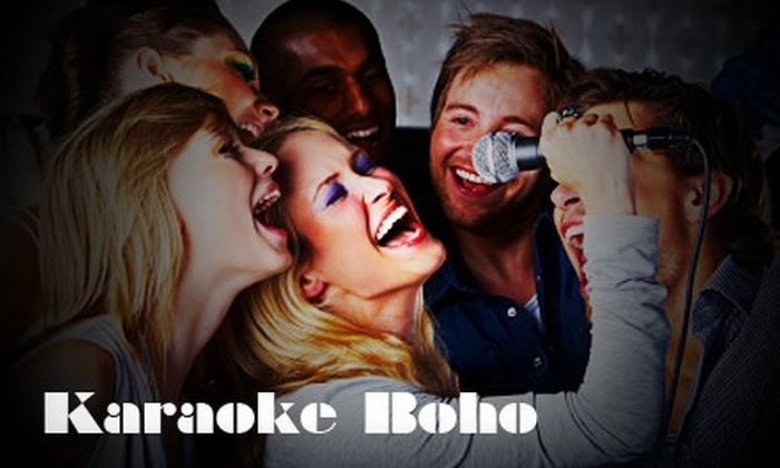 Karaoke Boho - New York City: $20 for One Hour of Unlimited Karaoke for Four People in a Private Room and Four Drinks  at Karaoke Boho (up to $64 Value)