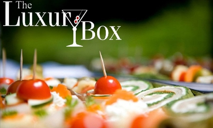 The Luxury Box - Spokane Valley: $15 for $30 Toward a Contemporary Steakhouse Dinner at The Luxury Box (or $10 for $20 Toward Lunch)