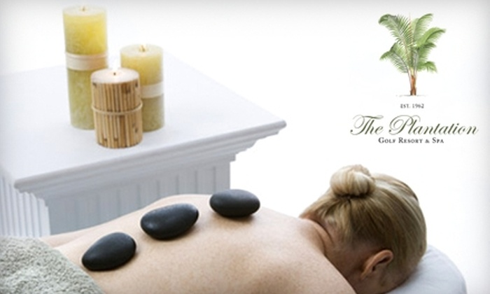 "The Spa at Plantation - Crystal River: $59 for All-Day ""Spa and Play"" Package at The Spa at Plantation in Crystal River ($135 Value)"