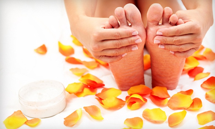 Image Nails Skin Beauty - The Loop: $39 for Two Mani-Pedis at Image Nails Skin Beauty ($104 Value)