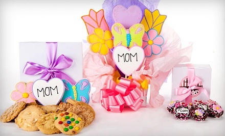 1 Dozen Belgian Chocolate-Covered Mother's Day Oreos Dipped in an Assortment of White, Milk, & Dark Chocolate (a $25 value) - Mother's Day Cookie Assortments in
