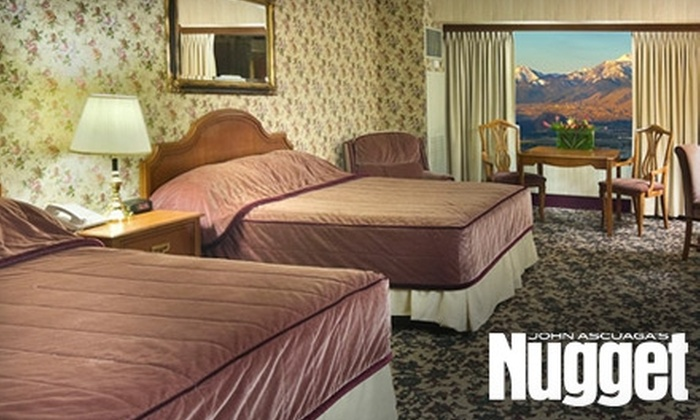 The Nugget Casino Resort - Stanford Industrial Park: $89 for a One-Night Stay and Massage at the Nugget in Sparks (Up to $194 Value)