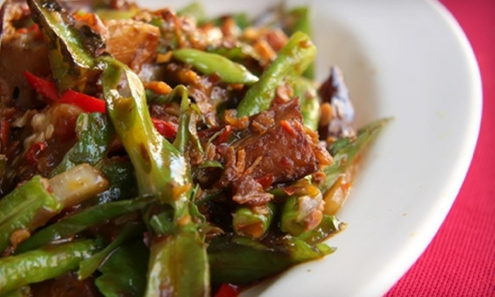 De Rice Thai Cuisine - Dallas: $10 for $20 Worth of Thai Fare and Drinks at De Rice Thai Cuisine