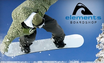 Elements Boardshop - Elements Boardshop in Erie