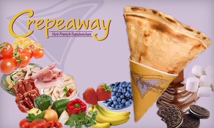 Crepeaway - Dupont Circle: $5 for $10 of Crêpes and More