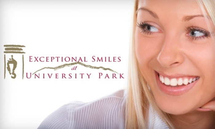 Exceptional Smiles - Northeast Colorado Springs: $55 for a Comprehensive Oral Exam, X-Rays, a Teeth Cleaning, and a Cosmetic Consultation with Digital Imaging at Exceptional Smiles ($401 Value)