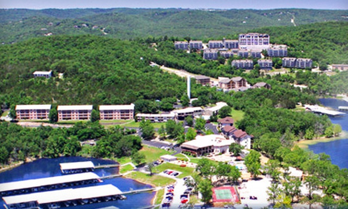 Rock Lane Resort - Branson: $169 for a Two-Night Stay at Rock Lane Resort and $50 Credit at Charlie's Steak Ribs and Ale in Branson (Up to $352.96 Value)