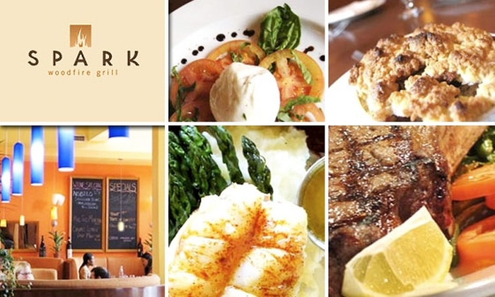 Spark Woodfire Grill - Beverlywood: $10 for $25 Worth of Food at Spark Woodfire Grill in Beverly Hills