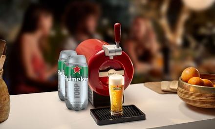 THE SUB Rouge Edition y 2 HEINEKEN TORPS de 2 litros cada uno por 64 € en vez de 180,98 €