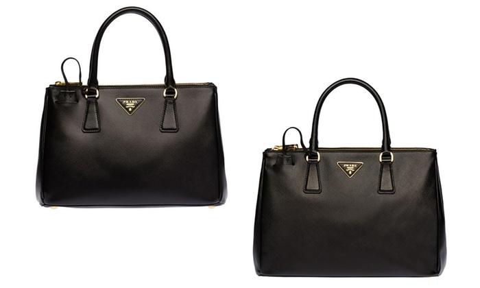 Prada Saffiano Leather Totes | Groupon