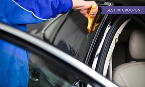 The Tint Shop: $139 for Car Window Tinting for One Back and Four Side Windows ($285 Value)