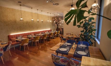 Menú a elegir para 2 o 4 personas con aperitivo, entrante, principal, postre y bebida desde 39,99 €  en Aire de Serrano