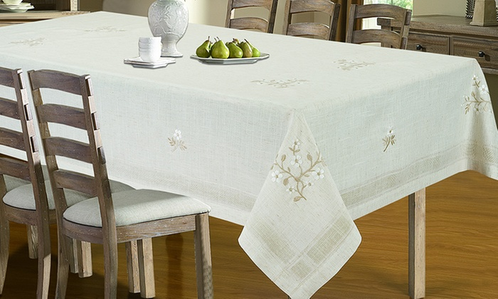 Tablecloths Runners Placemats Groupon Goods