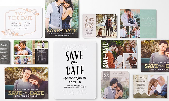 Wedding Paper Divas: Custom Wedding Invitations and Other Wedding Stationery from Wedding Paper Divas (50% Off). Three Options Available.