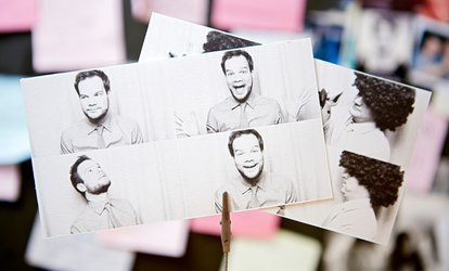 Two-Hour Selfie Station <strong>Rental</strong> with Optional Photo Booth from Bubble Photo-Booth (Up to 45% Off)