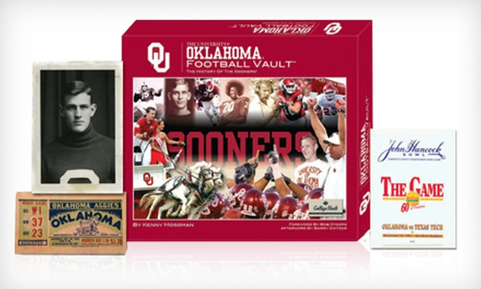 NCAA Football and Basketball Coffee-Table Vault Books: $20 for an NCAA Football or Basketball Vault Book ($49.95 List Price). Free Shipping. 31 Teams Available.